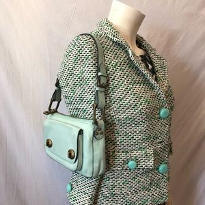 Marc Jacobs Italy mint leather small bag